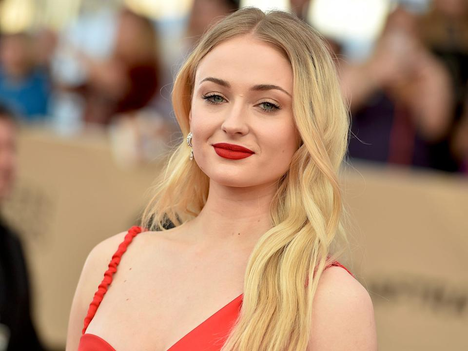 Sophie Turner said she thinks it's necessary to talk to someone about how you're feeling.