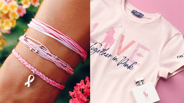 20 brands giving back for Breast Cancer Awareness Month