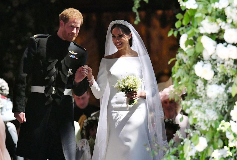 <p>If Harry and Meghan still had their own personal Instagram accounts, this photo would bring in all the likes. </p>