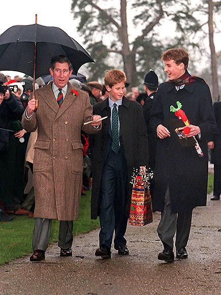 <p>The two teenage princes (with dad Prince Charles) had many admirers on their Christmas day walk.</p>
