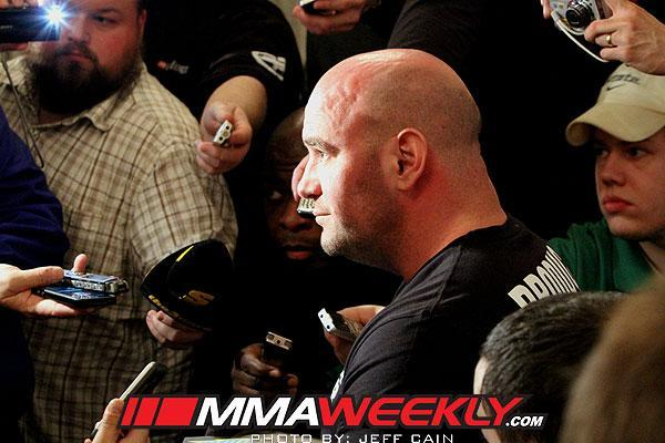 """Dana White on Fighter Pay: """"When you look at the lives we've changed, I'm (expletive) proud of it"""""""