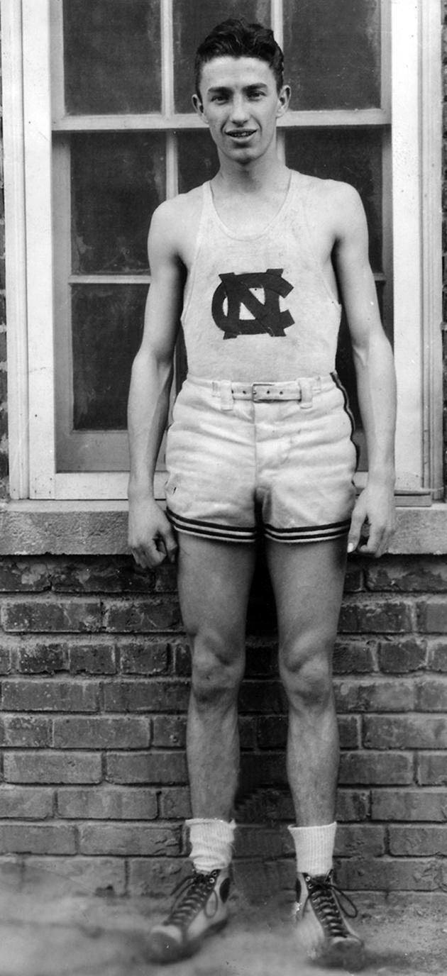 Jack Cobb of the North Carolina Tar Heels poses for a portrait circa 1923.