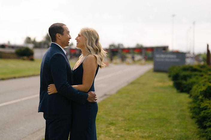 The small wedding was captured by a professional photographer. (Clint Bargen Photography)