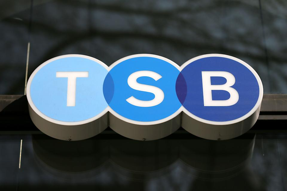 A TSB branch in Holborn in London