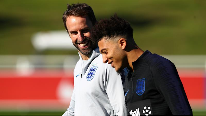 Southgate determined to assist Sancho amid downturn in Dortmund form