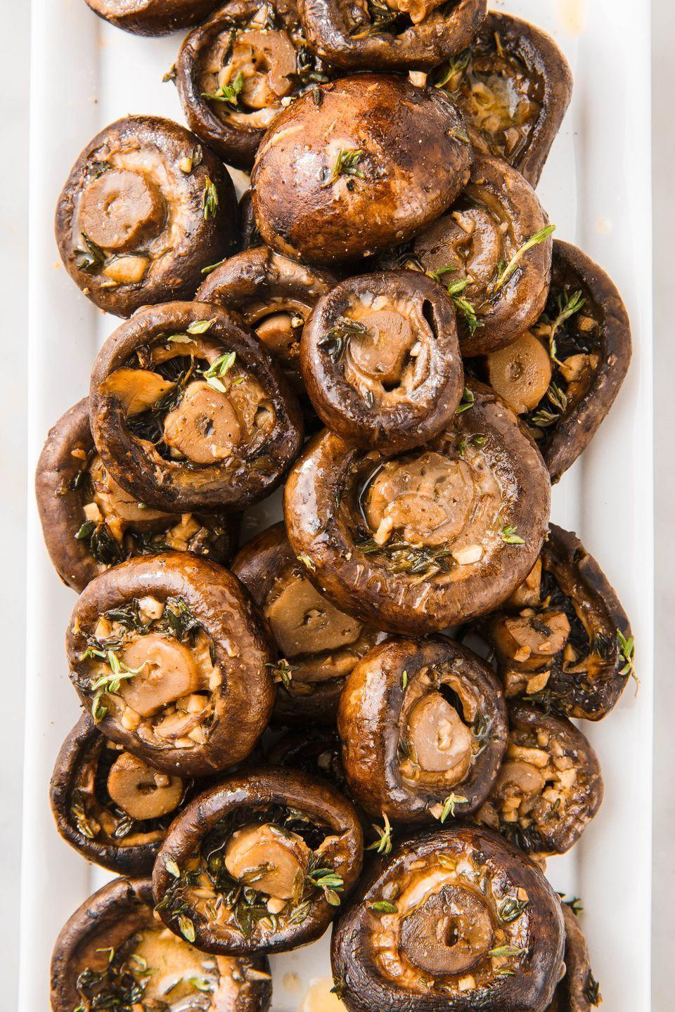 "<p>These are INSANELY addictive!</p><p>Get the recipe from <a href=""https://www.delish.com/cooking/recipe-ideas/a24520074/garlic-butter-mushrooms-recipe/"" rel=""nofollow noopener"" target=""_blank"" data-ylk=""slk:Delish"" class=""link rapid-noclick-resp"">Delish</a>.</p>"
