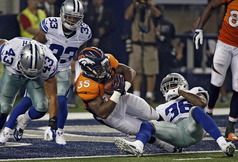 Cowboys rookie Dixon fined for hit in Miami game