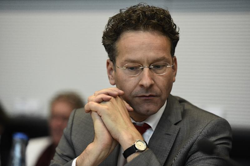 Dutch Finance Minister Jeroen Dijsselbloem, pictured on July 16, 2015, officially unveiled the 2015-16 budget including announcing five billion euros in tax breaks for citizens and companies (AFP Photo/Tobias Schwarz)