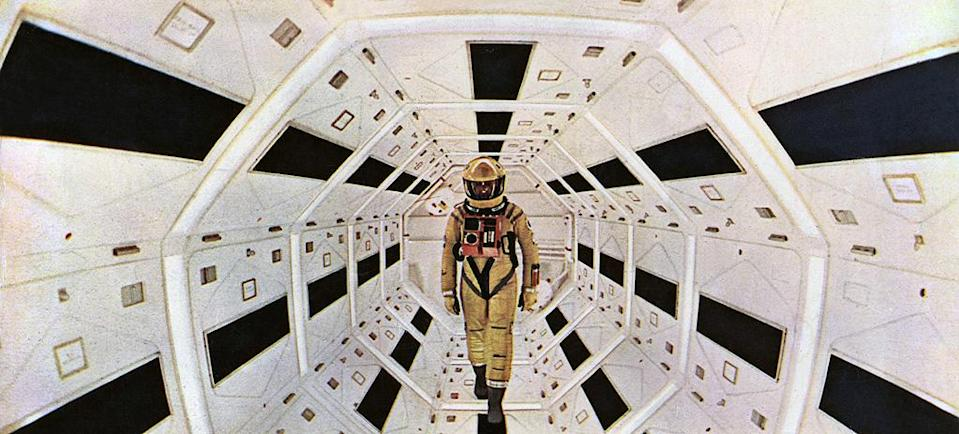 """<a href=""""http://movies.yahoo.com/movie/2001-a-space-odyssey/"""" data-ylk=""""slk:2001: A SPACE ODYSSEY"""" class=""""link rapid-noclick-resp"""">2001: A SPACE ODYSSEY</a> (1968) <br>Directed by: <span>Stanley Kubrick</span> <br> Starring: <span>Keir Dullea</span>, <span>Gary Lockwood</span> and <span>William Sylvester</span>"""