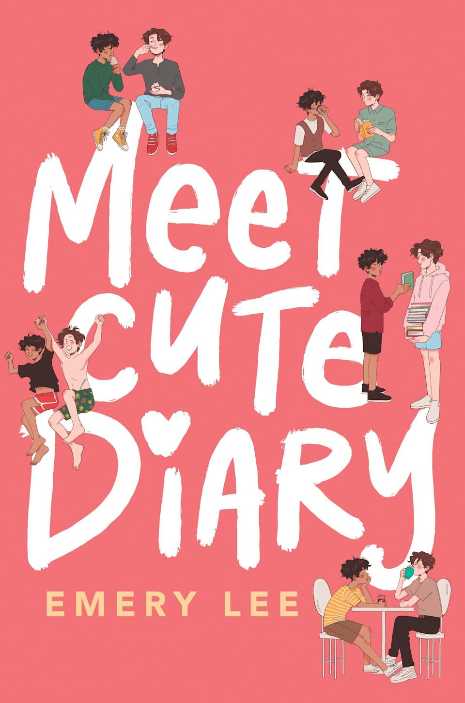 <p>In Emery Lee's <span><strong>Meet Cute Diary</strong></span>, Noah runs a blog where he collects stories of trans romances and happily-ever-afters. The problem is, they're all fake - they're Noah's own wishful thinking. When an anonymous blogger exposes the blog as lies, Noah tries to salvage his reputation by proving that the stories are true, and he recruits Drew to help him out. What starts as fake-dating, naturally, bleeds into real life, leaving Noah wondering if Drew feels the same way.</p> <p><em>Out May 4</em><br></p>