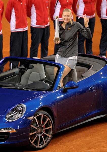 Maria Sharapova has won the Stuttgart title three times