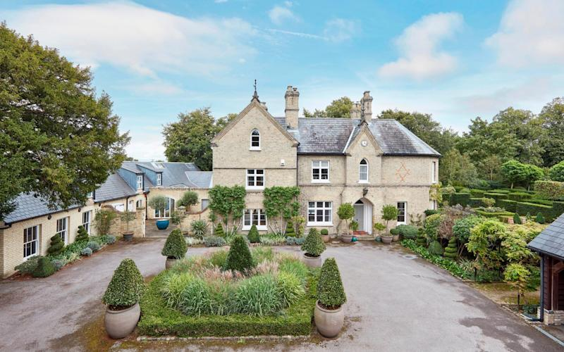 A six-bedroom Victorian vicarage in Lode, for sale at £1.7m with Cheffins