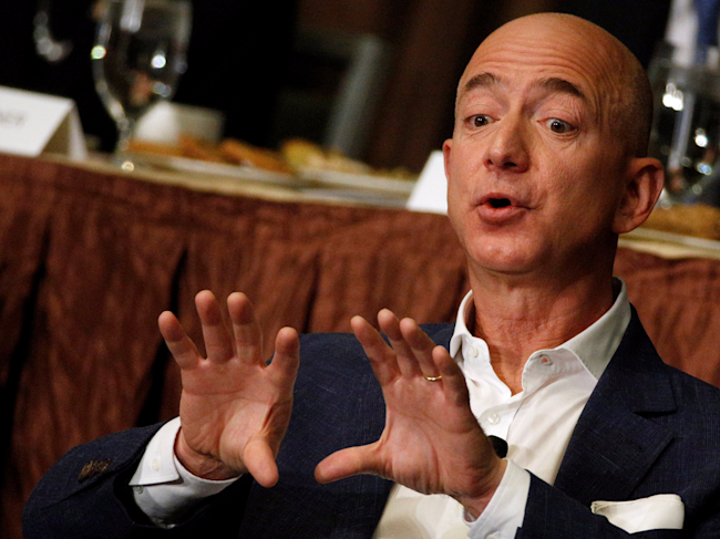 This Story About Amazon S Jeff Bezos Eating Octopus For Breakfast Is