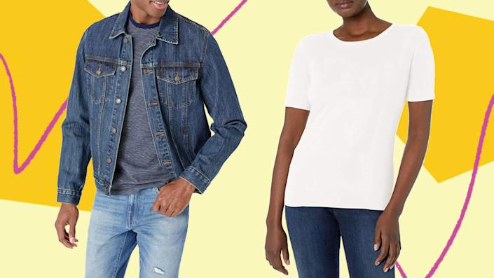There's a lot of J. Crew hidden in Amazon's first-ever Big Style Sale. (Photo: HuffPost )