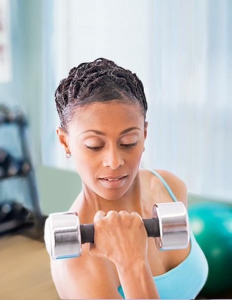 Want to grow younger in 2012? Pump iron a few times a week.