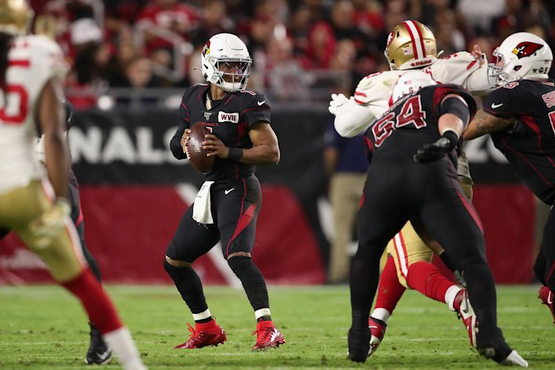Quarterback Kyler Murray #1 of the Arizona Cardinals
