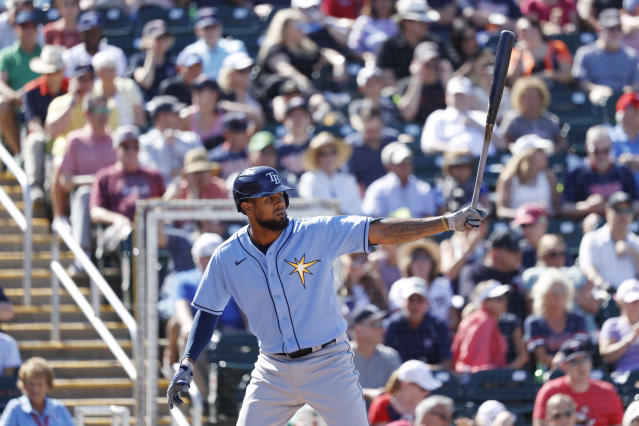 New Rays slugger José Martínez, acquired from the Cardinals in a typically opaque Tampa trade, is one of the new puzzle pieces manager Kevin Cash will try to arrange into a true contender. (Photo by Joe Robbins/Getty Images)
