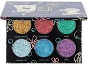<p>Add some sparkle and color to your eye looks with the <span>HipDot All the Glitters Palette</span> ($16).</p>