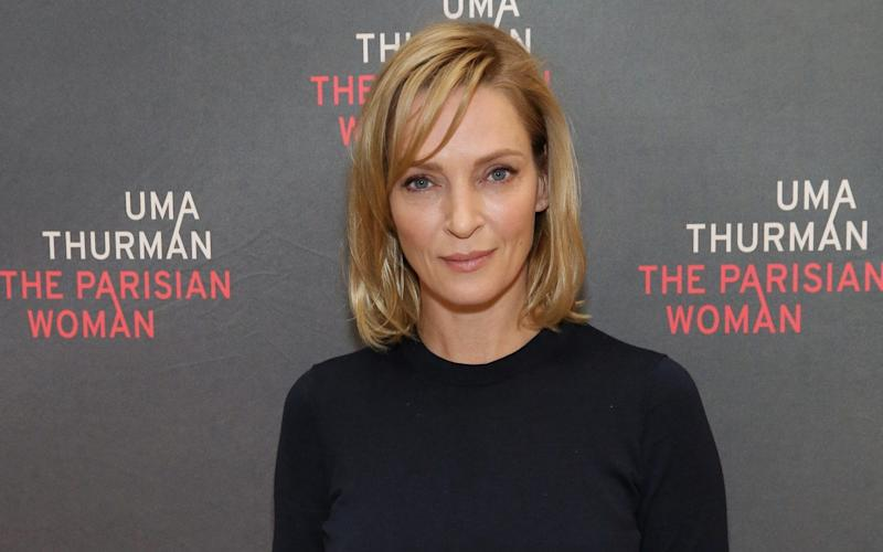 Uma Thurman in New York in October - WireImage