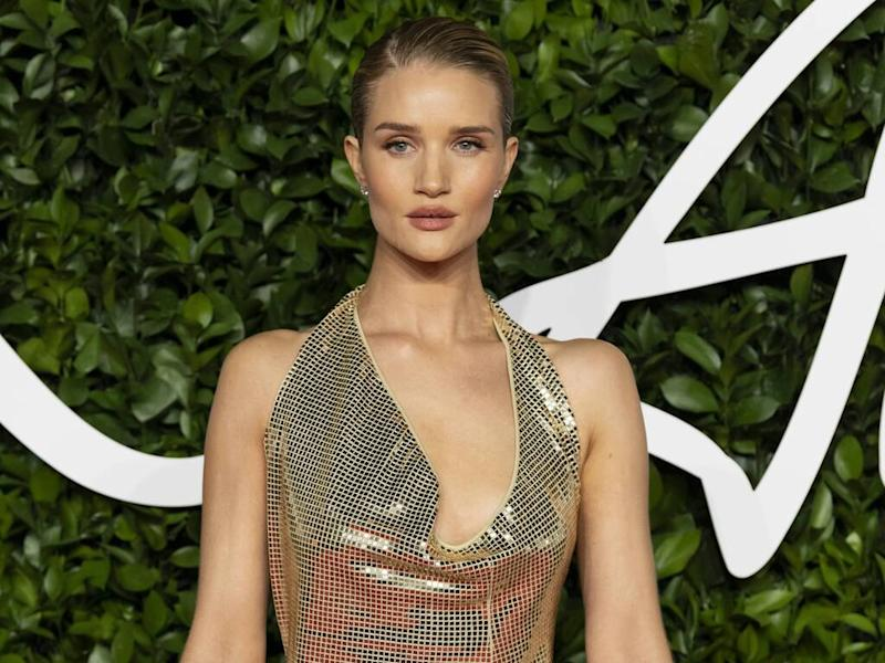 Rosie Huntington-Whiteley gets candid about struggle to lose weight after pregnancy