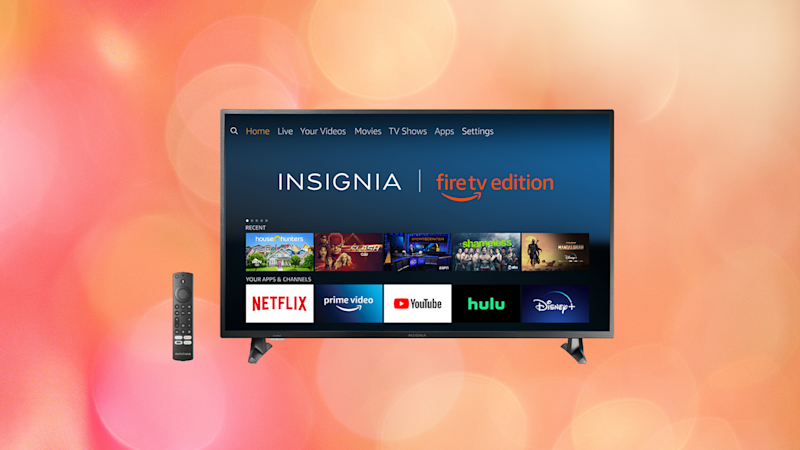Celebrate the holiday weekend with a Fire TV. (Photo: Insignia)