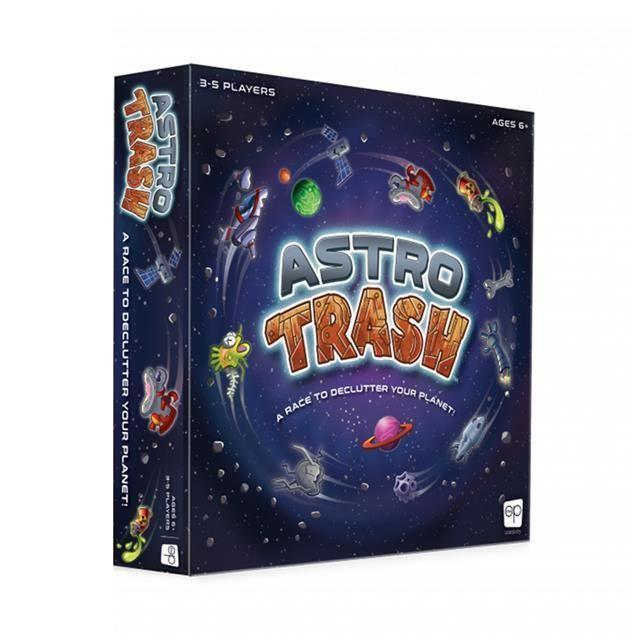 """<p><strong>USAOPOLY</strong></p><p><strong>$13.69</strong></p><p><a href=""""https://www.target.com/p/astro-trash-board-game/-/A-76201492"""" rel=""""nofollow noopener"""" target=""""_blank"""" data-ylk=""""slk:Shop Now"""" class=""""link rapid-noclick-resp"""">Shop Now</a></p><p>Roll the dice to see if you can off-load your planet's trash to a neighbor. But watch out — everyone else is giving you their junk at the same time. It's fast-paced and doesn't stop until someone wins. The more people you play with, the more fun (and hectic) it gets. <em>Ages</em> <em>6+</em>.</p>"""