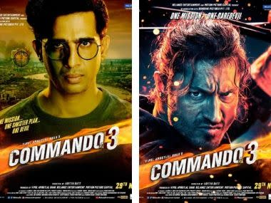 Commando 3: Character posters of Vidyut Jammwal, Angira Dhar, Gulshan Devaiah revealed ahead of trailer release
