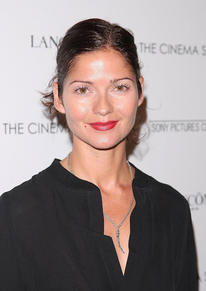 """<a href=""""http://movies.yahoo.com/movie/contributor/1800023460"""">Jill Hennessy</a> at the Cinema Society New York City premiere of <a href=""""http://movies.yahoo.com/movie/1809961213/info"""">Rachel Getting Married</a> - 09/25/2008"""