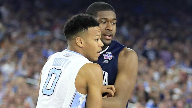 Villanova standout Kris Jenkins is the brother of guard Nate Britt, who now has a chance to add a second NCAA national championship to the family home.