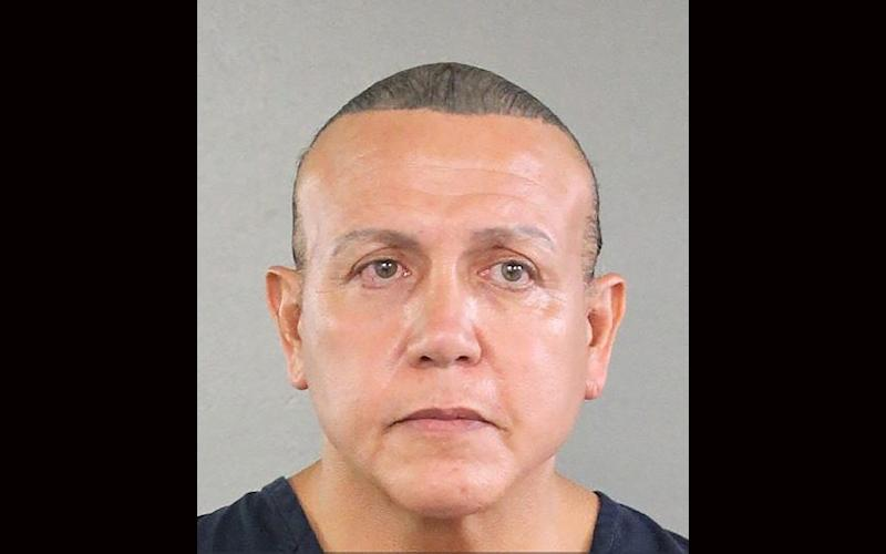 Cesar Sayoc, 57, pleaded guilty to sending crude bombs to prominent Democrats