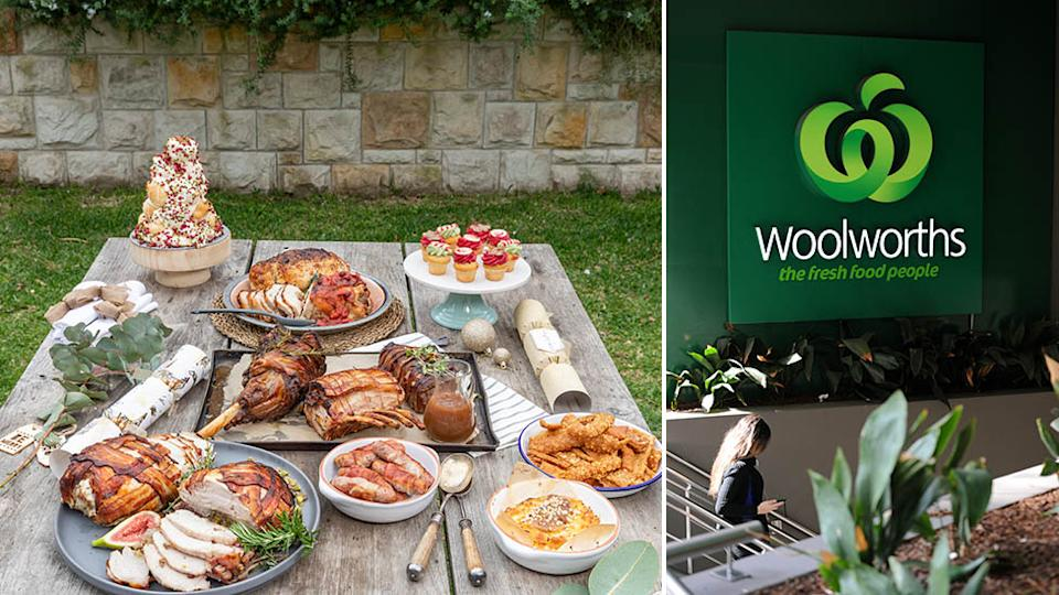 Woolworths has unveiled 16 new Christmas items, all available in stores from December 18. Source: Supplied - Woolworths/AAP