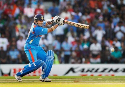 Sachin toook a wicket in his solitary T20I match