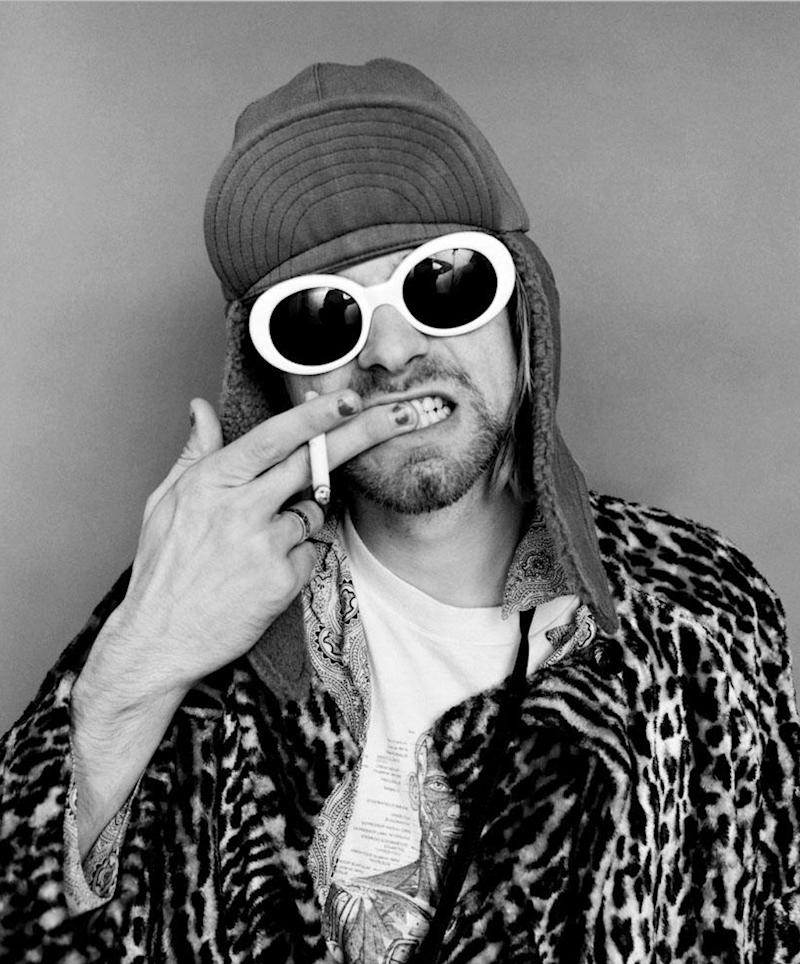 """Kurt Cobain in New York City, 1993. Photographed by Jesse Frohman and featured in the exhibition """"Grunge: Rise of a Generation,"""" curated by Marcelle Murdock and Casey Fannin-Kaplan. On view at Morrison Hotel Gallery in New York, Maui, and Los Angeles from March 8 through 31, 2019."""