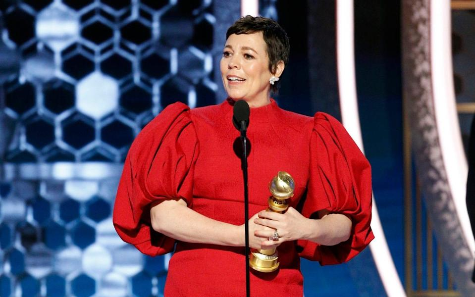 Olivia Colman already has an Oscar – now she wants a superhero suit - Paul Drinkwater