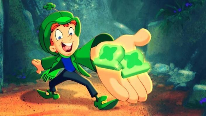 This Lucky Charms leprechaun was always getting chased by hungry kids.