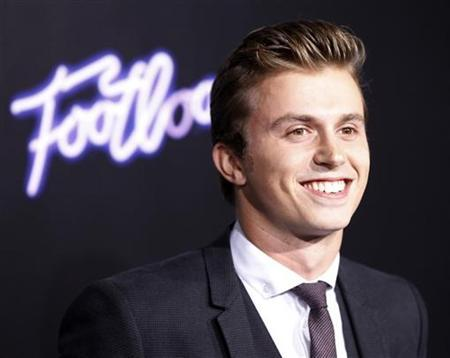 "Cast member Kenny Wormald arrives at the premiere of the film ""Footloose"" in Los Angeles"