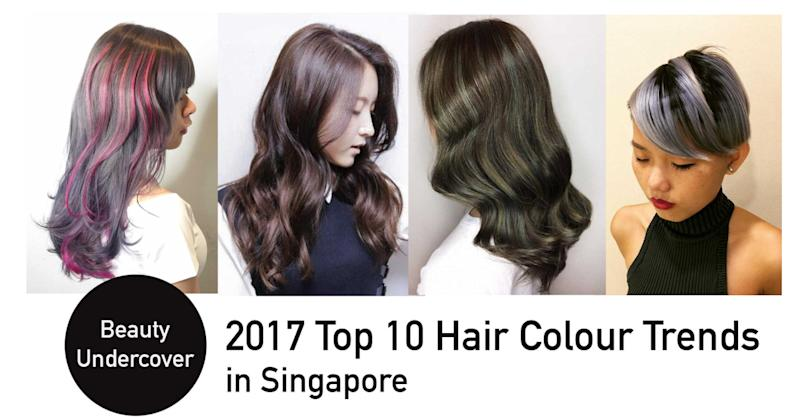 Top 10 Hair Colour Trends To Try In 2017