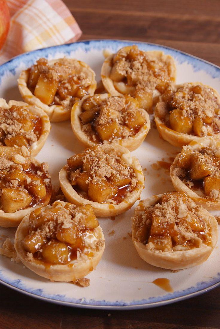 """<p>Like apple crisp and cheesecake had a beautiful baby.</p><p>Get the recipe from <a href=""""https://www.delish.com/cooking/recipe-ideas/recipes/a50082/apple-cheesecake-bites-recipe/"""" rel=""""nofollow noopener"""" target=""""_blank"""" data-ylk=""""slk:Delish"""" class=""""link rapid-noclick-resp"""">Delish</a>.</p>"""