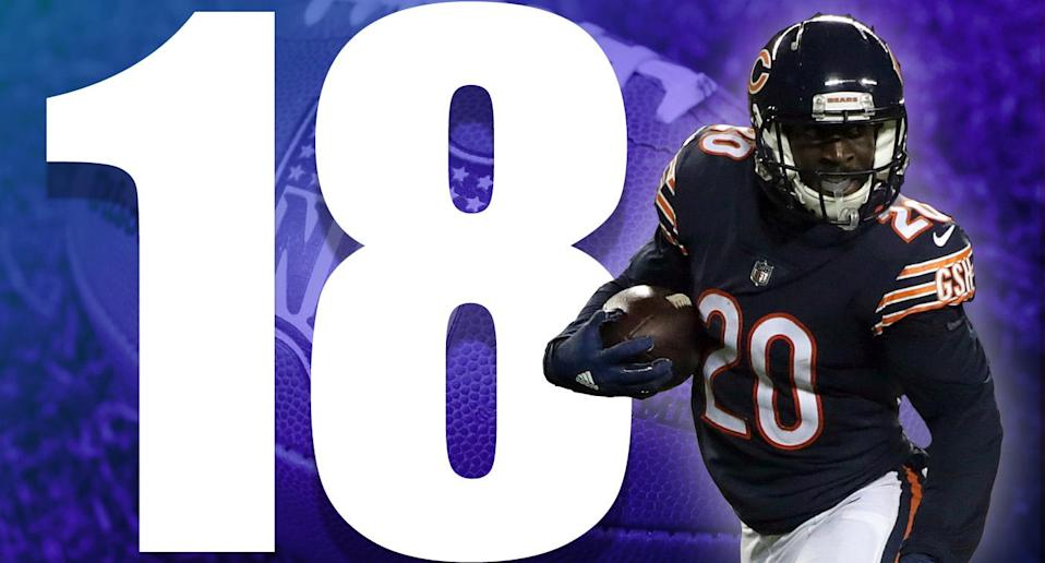 <p>We have to remember that Mitchell Trubisky is still incredibly early in his development. That said, Trubisky's lack of accuracy on some open throws is troubling. (Prince Amukamara) </p>