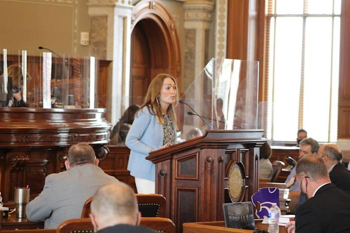 State Rep. Kristey Williams, an Augusta Republican, has been a driving force behind the education policy bill.