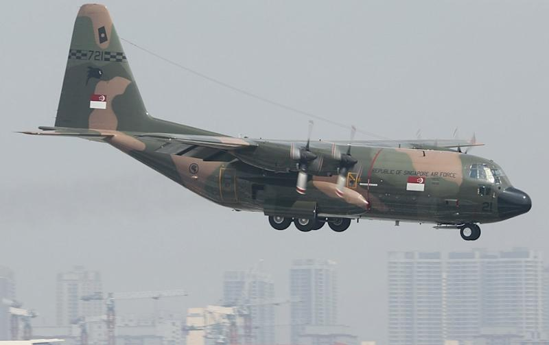 Singapore's air chief: We're happy with current fleet performing maritime security