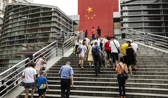 Going back to the mainland isn't the only option for those who choose to leave. Photo: Bloomberg