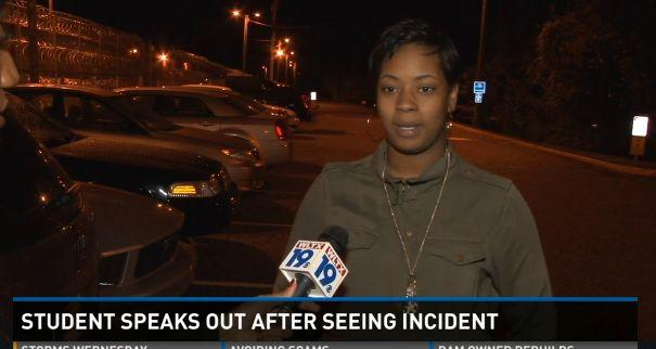 """Eighteen-year-old Niya Kenny<a href=""""http://www.wltx.com/story/news/local/2015/10/27/second-student-arrested-spring-valley-hs-speaks-out/74665360/"""">stood up for her classmate </a>after a South Carolina officer manhandled andforcedher classmateout of her chair. """"I was just crying and he said, since you have so much to say you are coming too,"""" Kenny told <a href=""""http://www.wltx.com/story/news/local/2015/10/27/second-student-arrested-spring-valley-hs-speaks-out/74665360/"""">WLTX 19</a>. """"I just put my hands behind my back."""""""