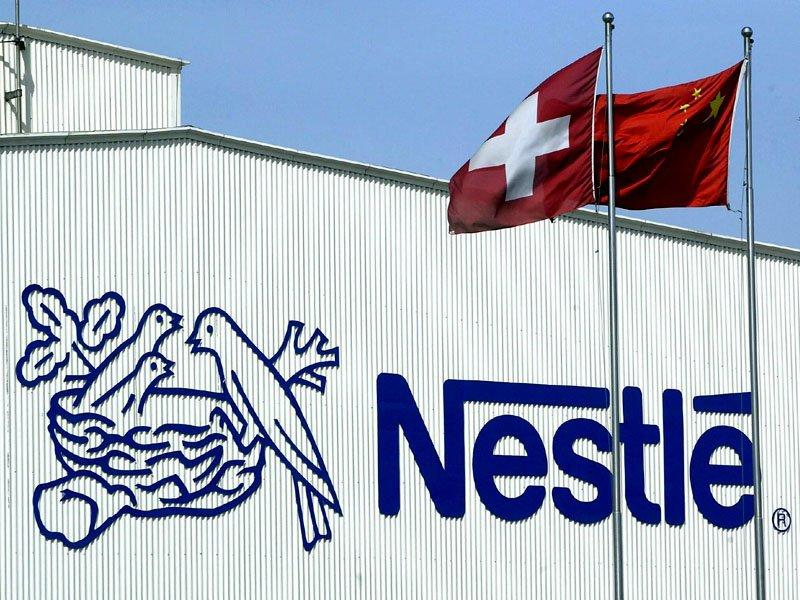 Nestle posts strong first-half profits
