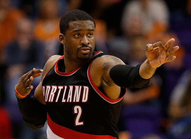Is Wesley Matthews worth $17.5 million per season after his Achilles injury? (Christian Petersen/Getty Images)
