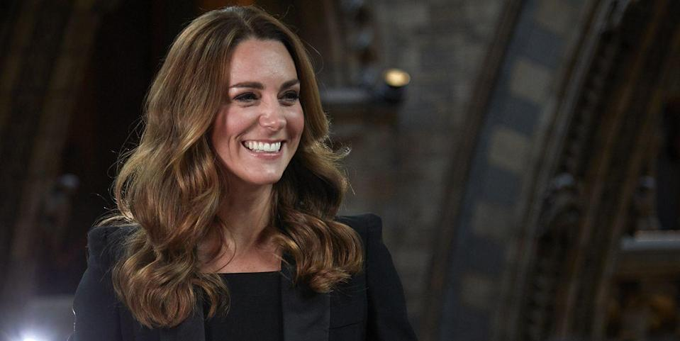Kate Middleton Stuns in a Black Suit at the Natural History Museum