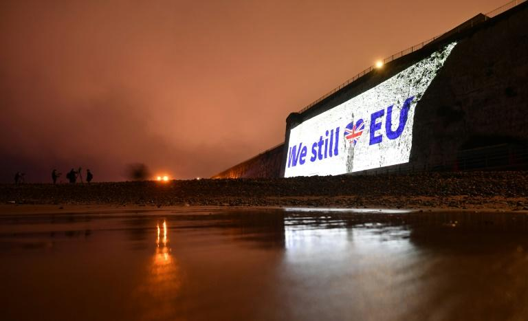 Relations between Britain and the EU have become more testy lately (AFP Photo/Ben STANSALL)