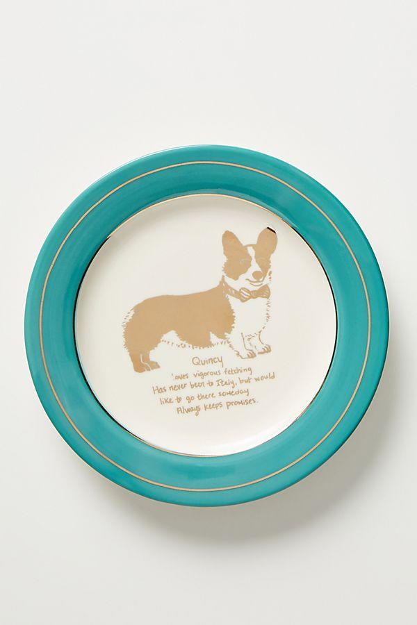 Dog Biography Canape Plate (Photo: Anthropologie)