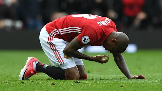 Manchester United have drawn 10 home matches in the Premier League this season, with Ashley Young bemoaning his side's results.