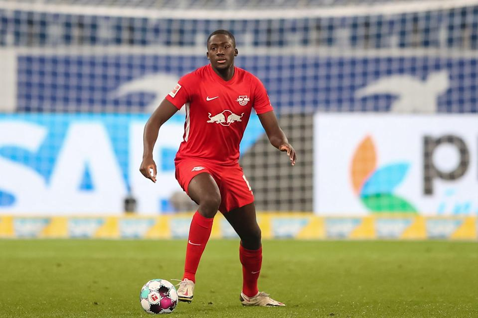 <p>Ibrahima Konate will join Liverpool from RB Leipzig on July 1</p> (Getty Images)